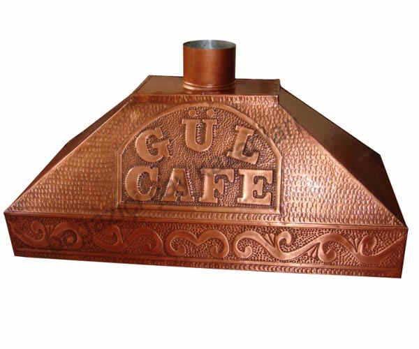 Bakır Davlumbaz - Gül Cafe