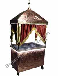 Kahveci Güzeli Arabası (Cami Manzaralı)