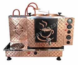 Tekli Elektrik Ocaklı Statik Boyalı Çay Kazanı